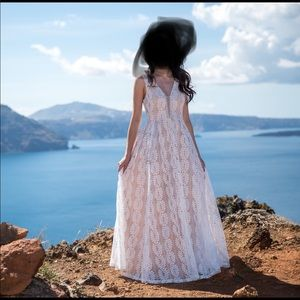 Lulu's Dresses - Lulus Eliana Lace Maxi Dress